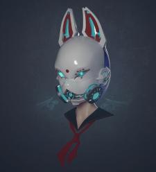 Sci-fi Kitsune