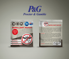 Дизайн упаковки пластырей Procter & Gamble
