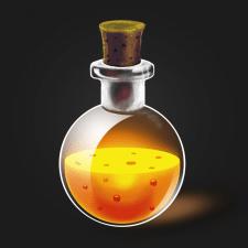 Иллюстрация иконки для мобильной игры