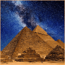 Secret code of the pyramids