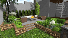 Патио для отдыха