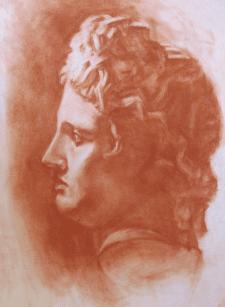 Портретний гіпс Аполлона