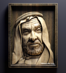 шейх Зайд основатель Абу-Даби (частный заказ)