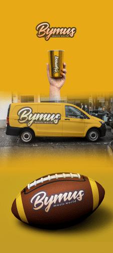Шрифтовой логотип Bymus