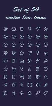 Разработка пака иконок