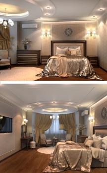 Спальня-классика