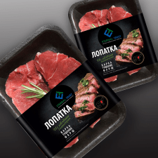 Упаковка  для мяса