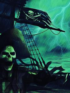 Призрак старого пирата