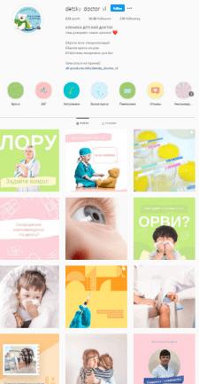 Контент-план для детской клиники