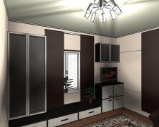 Дизайн гостиной 4х4 м