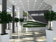 Визуализация Торгового Центра.