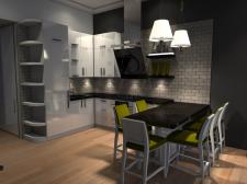 Дизайн інтер'єрів малогабаритної квартири