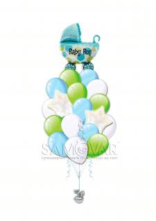 Композиции из шаров ..для интернет магазина
