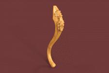 3D модель ножка