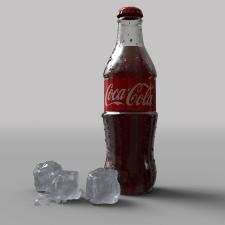 Бутылка кока колы
