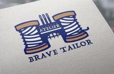 """Логотип для ателье """"Brave Tailor"""""""