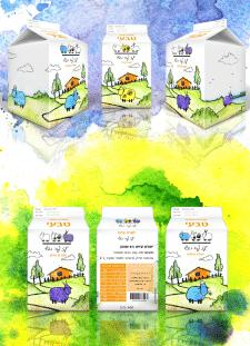 Разработка упаковки йогурта
