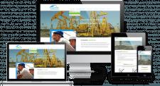 Сайт каталог для компании обслуживания АЗС