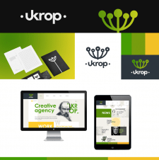Студия графического дизайна Ukrop