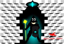 Иллюстрация  скетч Персонаж