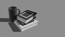 Чёрно-белый натюрморт (Свет и тень)