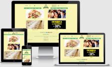 Сайт визитка - ресторан в Киеве