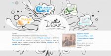 Сайт-визитка с уникальным дизайном