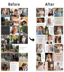 Разработка визуала в Instagram
