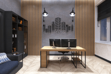 Office design, Lviv (Loft)