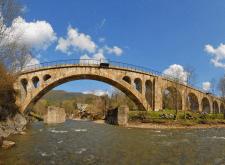 Найдовший кам'яний міст Європи – закарпатський віа