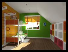 Разработка дизайна детской. г.Владивосток