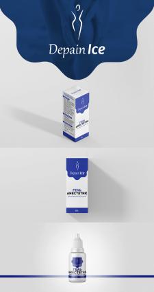 Дизайн коробки и этикетки анестетика