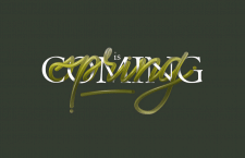 """Леттеринг композиция """"spring is coming"""""""