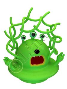 Зелёный инопланетянин