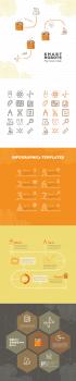 Элементы инфографики для SmartRobots