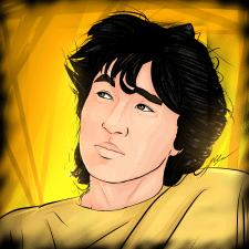 Арт - портрет Виктор Цой