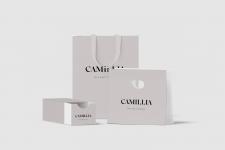 Упаковка продукта - логотип салона CAMILLIA