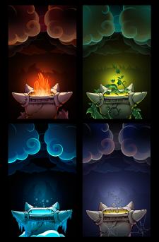 заставки уровней для игры Zeus Defence