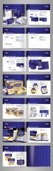Молочный концерн, серия Danke | брендбук 2 часть