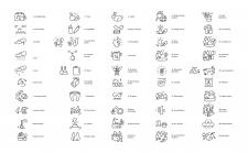 иконки линейные