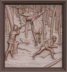 Охота на лося (Moose hunting)