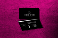 Визитка и логотип агентства личного брендинга
