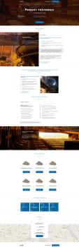Верстка сайта для группы команий LOSA GmbH