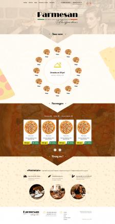 Дизайн сайта - Доставка еды на дом