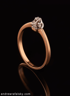 Золотое кольцо, съёмка для каталога