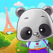 Пандочка.ілюстрація для мобільної гри