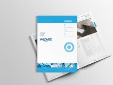 Верстка каталога компании Wizard