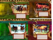 обложки с лошадьми