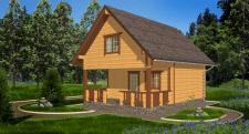 Гостевой дом из бруса