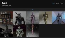 3D-модели на ArtStation (рендеры)